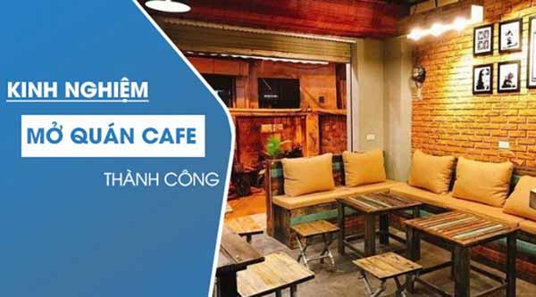 8 kinh nghiệm khi mới mở quán cafe