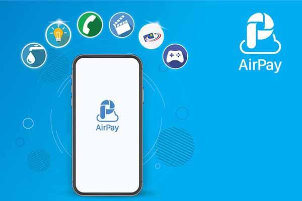 Cách thanh toán Internet FPT bằng ví điện tử AirPay