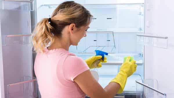 Cách vệ sinh tủ lạnh bằng giấm với 6 bước